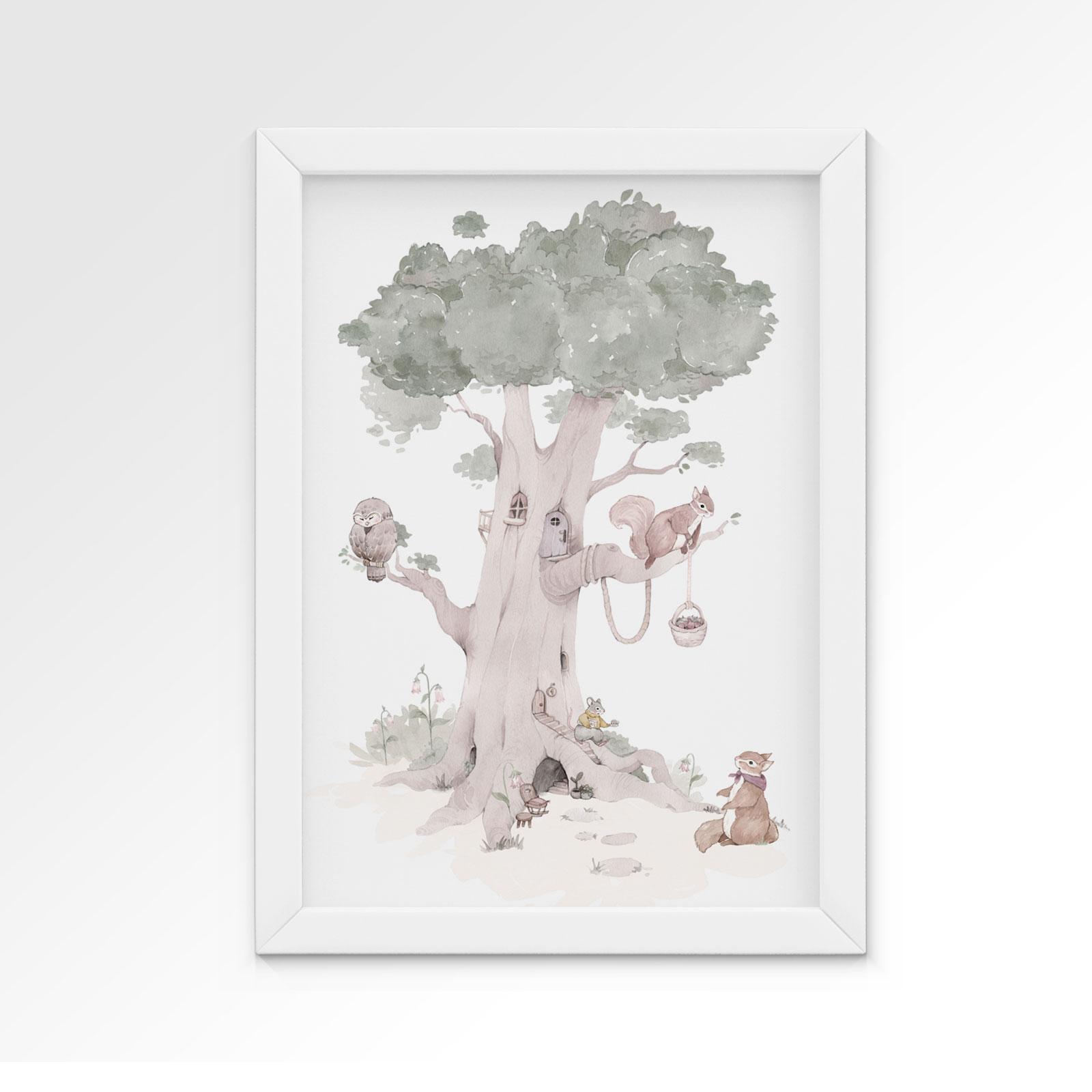 plakat-dla-dziecka-lesny